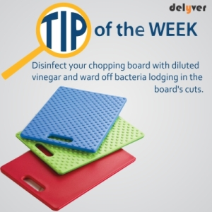Disinfect your chopping board