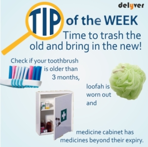 Tip of the week: Quick clean tips