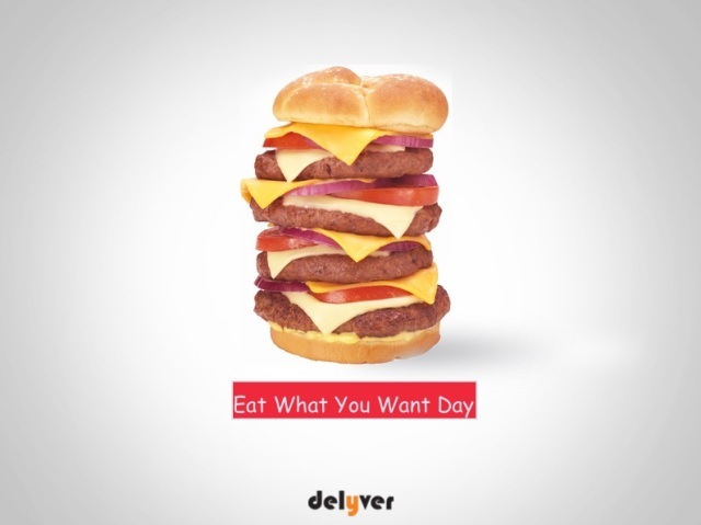 Eat what you want day